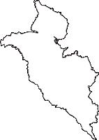 埼玉県さいたま市岩槻区(いわつきく)の白地図無料ダウンロード