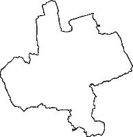 埼玉県熊谷市(くまがやし)の白地図無料ダウンロード