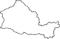 埼玉県飯能市(はんのうし)の白地図無料ダウンロード