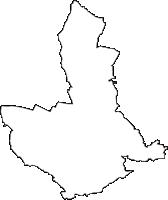 埼玉県東松山市(ひがしまつやまし)の白地図無料ダウンロード