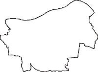 埼玉県羽生市(はにゅうし)の白地図無料ダウンロード