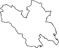 埼玉県鴻巣市(こうのすし)の白地図無料ダウンロード
