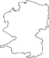埼玉県深谷市(ふかやし)の白地図無料ダウンロード
