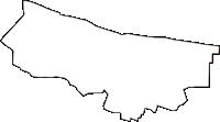 埼玉県蕨市(わらびし)の白地図無料ダウンロード