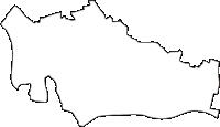 埼玉県戸田市(とだし)の白地図無料ダウンロード