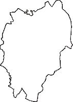 埼玉県朝霞市(あさかし)の白地図無料ダウンロード