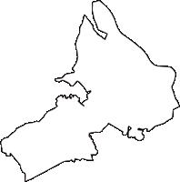 埼玉県志木市(しきし)の白地図無料ダウンロード