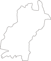 埼玉県和光市(わこうし)の白地図無料ダウンロード