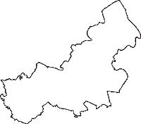 埼玉県久喜市(くきし)の白地図無料ダウンロード