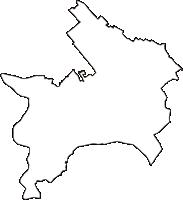 埼玉県北本市(きたもとし)の白地図無料ダウンロード