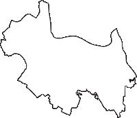 埼玉県幸手市(さってし)の白地図無料ダウンロード