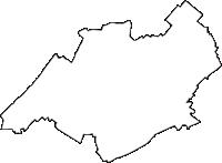 埼玉県鶴ヶ島市(つるがしまし)の白地図無料ダウンロード