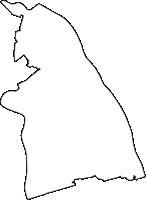 埼玉県吉川市(よしかわし)の白地図無料ダウンロード