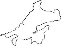 埼玉県ふじみ野市(ふじみのし)の白地図無料ダウンロード