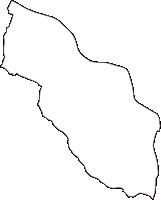埼玉県北足立郡伊奈町(いなまち)の白地図無料ダウンロード
