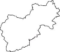 埼玉県入間郡毛呂山町(もろやままち)の白地図無料ダウンロード
