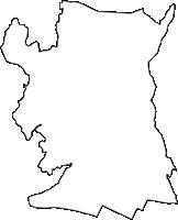 埼玉県比企郡滑川町(なめがわまち)の白地図無料ダウンロード