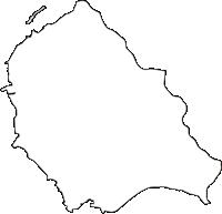 埼玉県比企郡吉見町(よしみまち)の白地図無料ダウンロード
