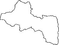 埼玉県秩父郡皆野町(みなのまち)の白地図無料ダウンロード