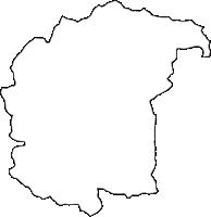 埼玉県秩父郡長瀞町(ながとろまち)の白地図無料ダウンロード