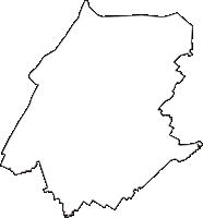 埼玉県児玉郡上里町(かみさとまち)の白地図無料ダウンロード