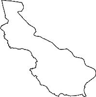 埼玉県南埼玉郡宮代町(みやしろまち)の白地図無料ダウンロード