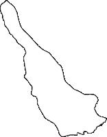 千葉県野田市(のだし)の白地図無料ダウンロード