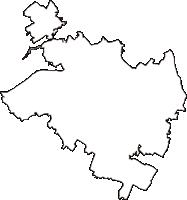 千葉県東金市(とうがねし)の白地図無料ダウンロード