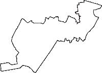 千葉県習志野市(ならしのし)の白地図無料ダウンロード