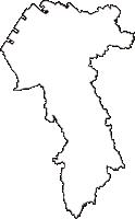 千葉県市原市(いちはらし)の白地図無料ダウンロード