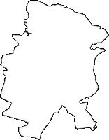 千葉県八千代市(やちよし)の白地図無料ダウンロード