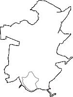 千葉県鎌ケ谷市(かまがやし)の白地図無料ダウンロード