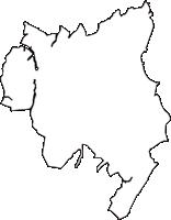 千葉県四街道市(よつかいどうし)の白地図無料ダウンロード
