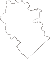 千葉県匝瑳市(そうさし)の白地図無料ダウンロード