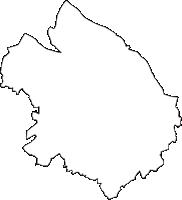 千葉県香取市(かとりし)の白地図無料ダウンロード