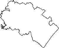 千葉県山武市(さんむし)の白地図無料ダウンロード