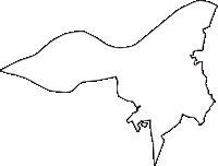 千葉県印旛郡栄町(さかえまち)の白地図無料ダウンロード