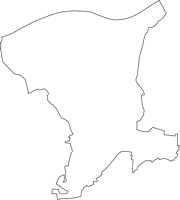 千葉県香取郡神崎町(こうざきまち)の白地図無料ダウンロード
