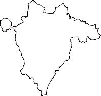 千葉県香取郡多古町(たこまち)の白地図無料ダウンロード