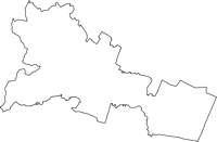 千葉県山武郡大網白里町(おおあみしらさとまち)の白地図無料ダウンロード