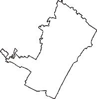 千葉県山武郡九十九里町(くじゅうくりまち)の白地図無料ダウンロード