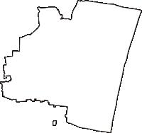 千葉県長生郡白子町(しらこまち)の白地図無料ダウンロード
