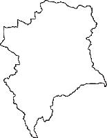 千葉県長生郡長柄町(ながらまち)の白地図無料ダウンロード