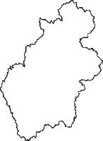千葉県夷隅郡大多喜町(おおたきまち)の白地図無料ダウンロード