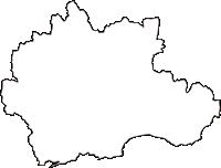 千葉県夷隅郡御宿町(おんじゅくまち)の白地図無料ダウンロード