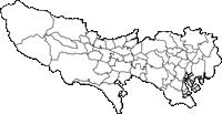 東京都(とうきょうと)の白地図無料ダウンロード