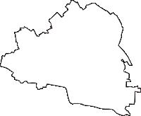東京都文京区(ぶんきょうく)の白地図無料ダウンロード