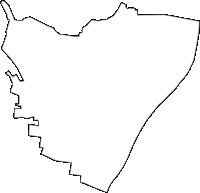 東京都台東区(たいとうく)の白地図無料ダウンロード