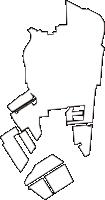 東京都江東区(こうとうく)の白地図無料ダウンロード