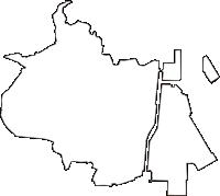 東京都品川区(しながわく)の白地図無料ダウンロード